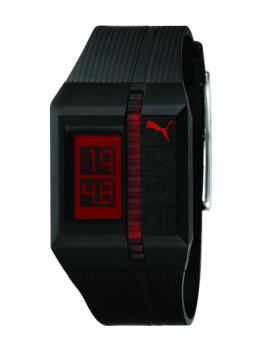 Relógio Puma Preto e Vermelho