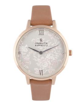 Relógio Senhora Charlotte Raffaelli Castanho Claro