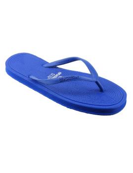 Chinelos Brasileras Senhora Light Clasica Azul Royal