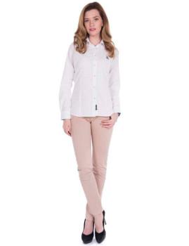 Camisas de Linho de Senhora Giorgio di Mare Branco