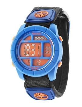 Relógio Timberland Duston Azul E Laranja