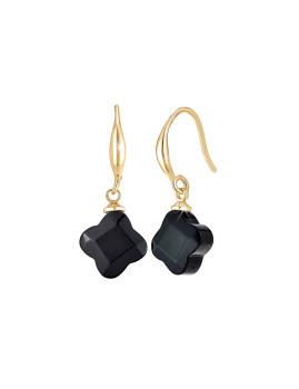 imagem de Brincos SC Bohemian obsidian1