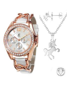 imagem de Relógio Elegant SC bohemous com Cristais Swarovski®1
