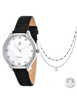 imagem de Relógio Stylish SC bohemic com 50 cristais Swarovski e colares1