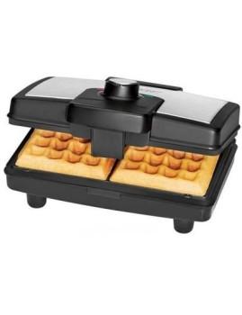 Máquina de waffles dupla Clatronic