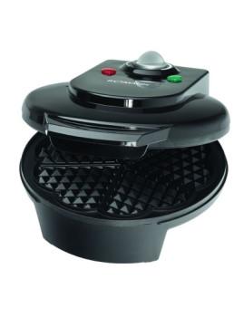Máquina de waffles Bomann Preta