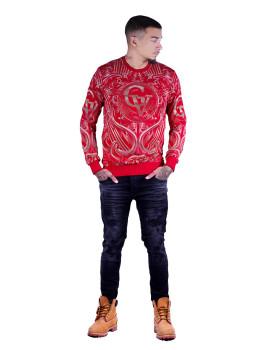 Sweatshirt Homem Vermelho