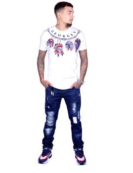 T-shirt Homem Branco