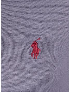 imagem de Pullover decote em V Homem Cinza e Bordeaux Homem 2