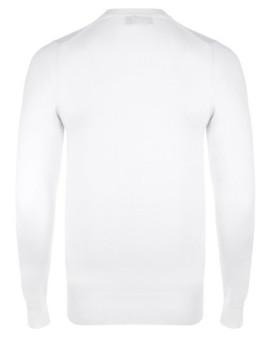 imagem de Camisola Homem Branco/Azul Navy2