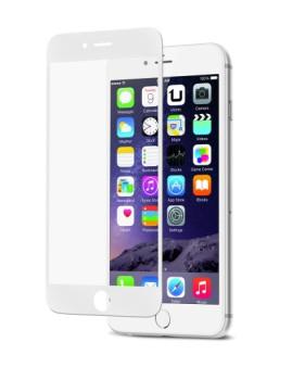 Protetor de Ecrã Temperado Full Cover para IPHONE 6/6S Branco