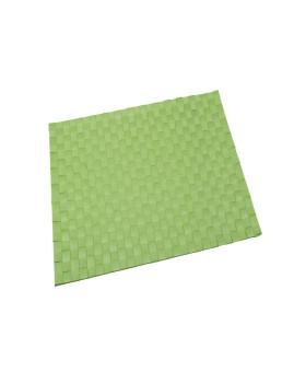 Base Individual 30X45 Cm Poliéster Verde