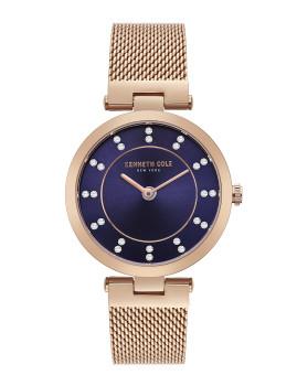 Relógio Senhora Kenneth Cole Rosa Dourado