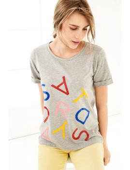 T-Shirt SHOT  Cinza Ref 124