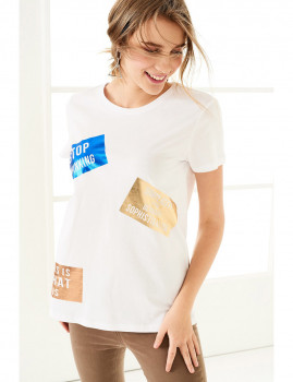 T-Shirt SHOT  Branca Ref 123