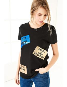 T-Shirt SHOT  Preto Ref 123
