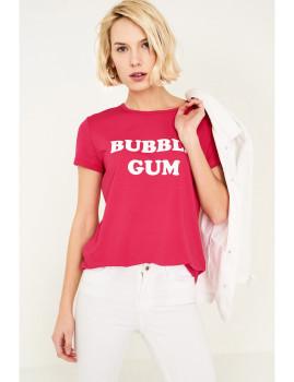T-Shirt SHOT  Fuchsia Ref 117