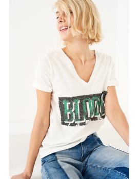 T-Shirt SHOT  Branca Ref 105