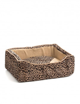 Cama Para Cães Pet Prior (45 X 35 Cm) (Leopardo)