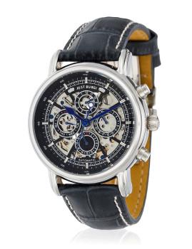 Relógio ´´Lugano´´ Bracelete Couro Homem