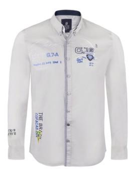 Camisa Giorgio di Mare Cinza
