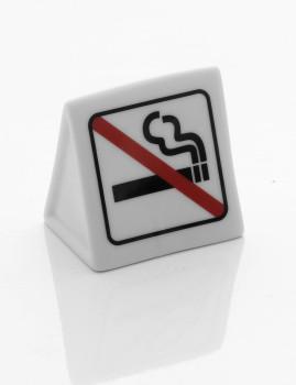 Área De Sinal Não Fumadores Em Porcelana