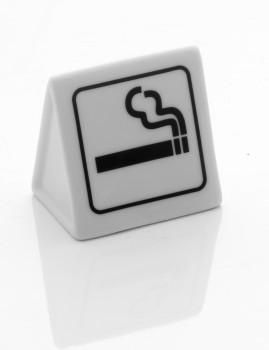 Área De Sinal Fumadores Em Porcelana