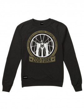 Sweatshirt Zoo York Brooklyn Bridge Preta