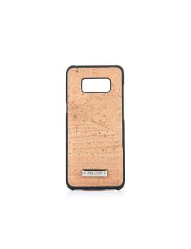 Capa de Telemóvel Cortiça + Preto p/ Samsung S8 Plus