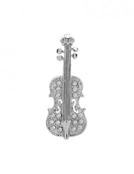 Pendente Violino Prateado
