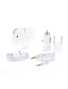 Pack 5 em 1 Iphone 4/4S Branco