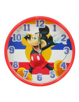 Relógio Despertador Redondo Mickey