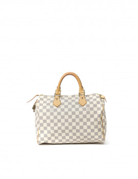 Louis Vuitton Speedy 30 Branca