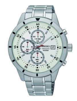 Relógio Seiko Prateado
