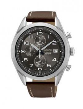 Relógio Seiko Quartz Casual / Lifestyle Verde Escuro e Prateado
