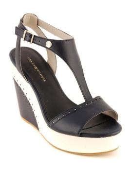 Sandálias Estelle Azul Escuro