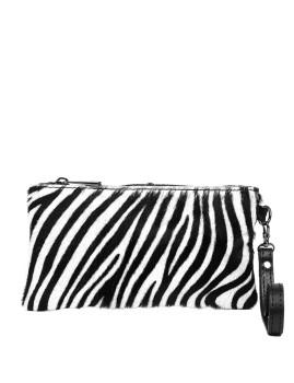 imagem de Mala de Mão Fiorella Preto E Zebra1