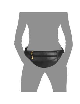 imagem de Bolsa de Cintura Preto4