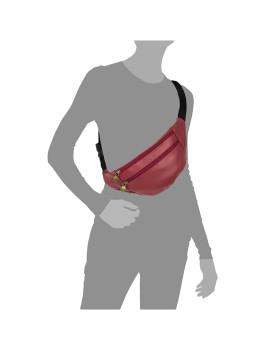 imagem de Bolsa de Cintura Vermelho5