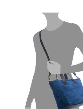 imagem de Mala Tote Agnese Azul4