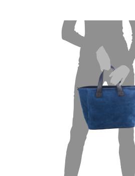 imagem de Mala Tote Agnese Azul5