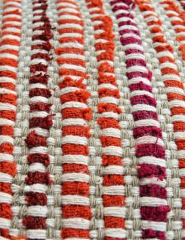 imagem de Pack 4 Capas Almofada Entrelaçado Orange Harmony3