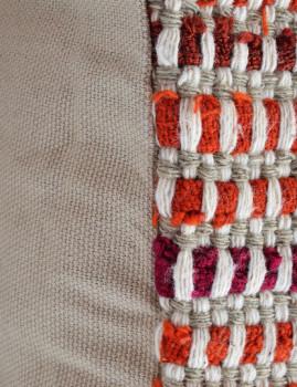 imagem de Pack 4 Capas Almofada Entrelaçado Orange Harmony4