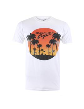 T-shirt Sunset Homem Branco