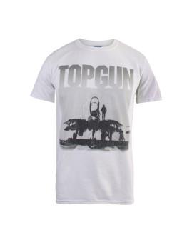 T-shirt Flight Deck Homem Branco
