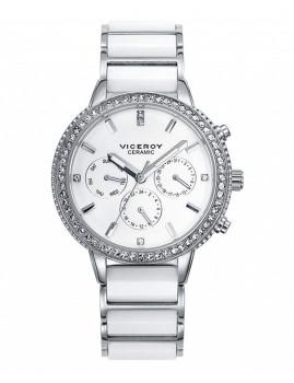 Relógio Viceroy Prateado e Branco