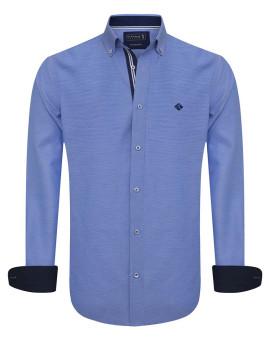 Camisa Sir Raymond Tailor Swish Homem Azul