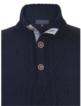 Pullover Sir Raymond Tailor Wave Homem Azul Marinho