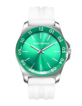 Relógio de Senhora Mark Maddox Branco e Verde