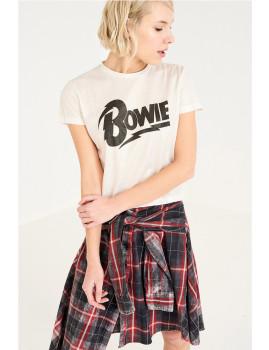 T-Shirt SHOT Bowie Branca  Ref 111